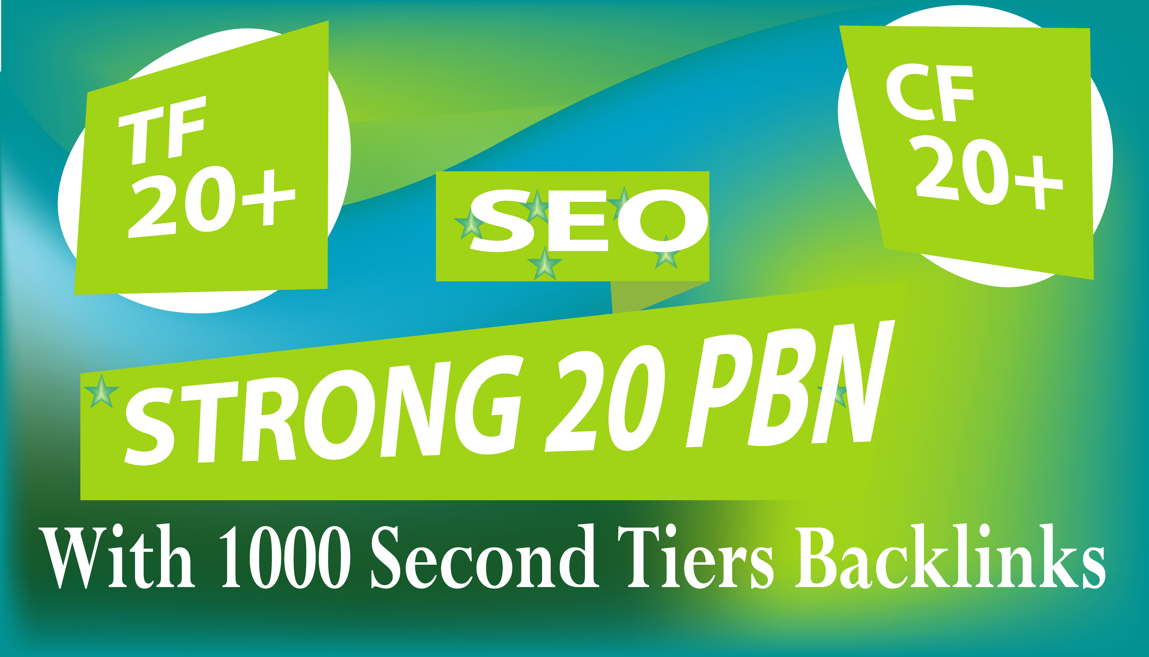 Create 20 Manual High Dofollow PBN With 1000 2nd Tiers Backlinks