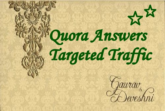 Increase your website traffic with 45 quora answers