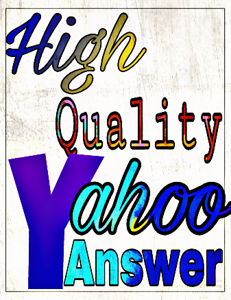 Promote your website 25 high quality Yahoo answer only