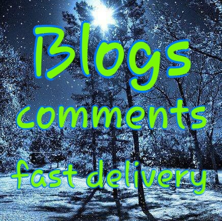 Permanent 80 blog comments very fast