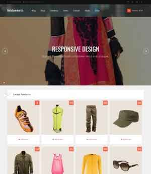 3 Pages Responsive HTML5 website