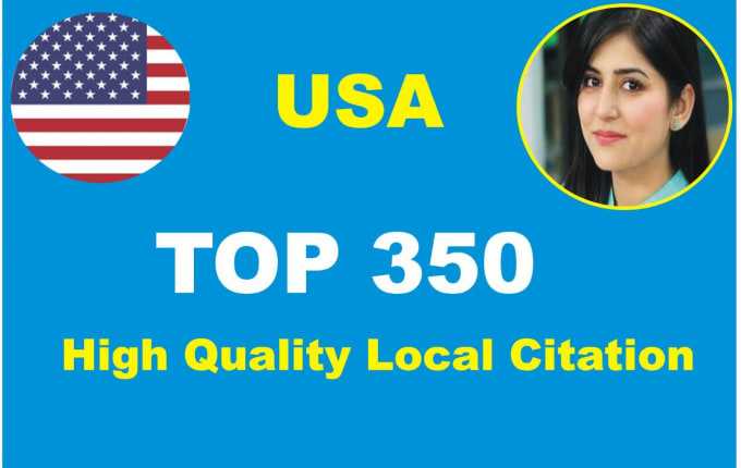 300 Local Citations From Whitespark,  Brightlocal,  Yext,  Moz