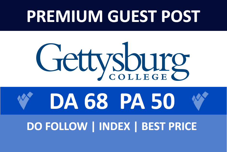 Publish a guest post on Gettysburg - Gettysburg. edu