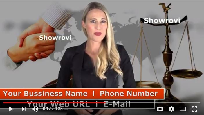 Provide Awesome Custody Attorney Spokesperson Promo V...