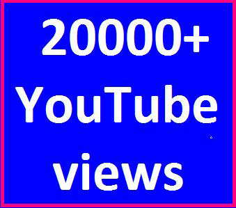 20000-25000 High Quality Youtube views non drop refill guaranteed instant start