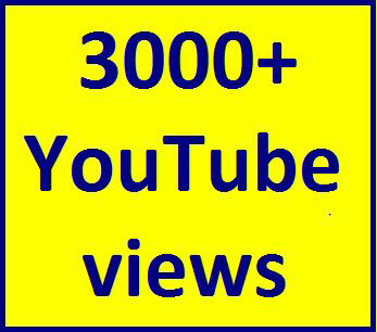 1000-1800 High Quality Youtube views non guaranteed refill guaranteed