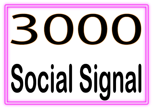 Boost Site Alexa Rank with 3000 Social Signals white hat seo backlinks