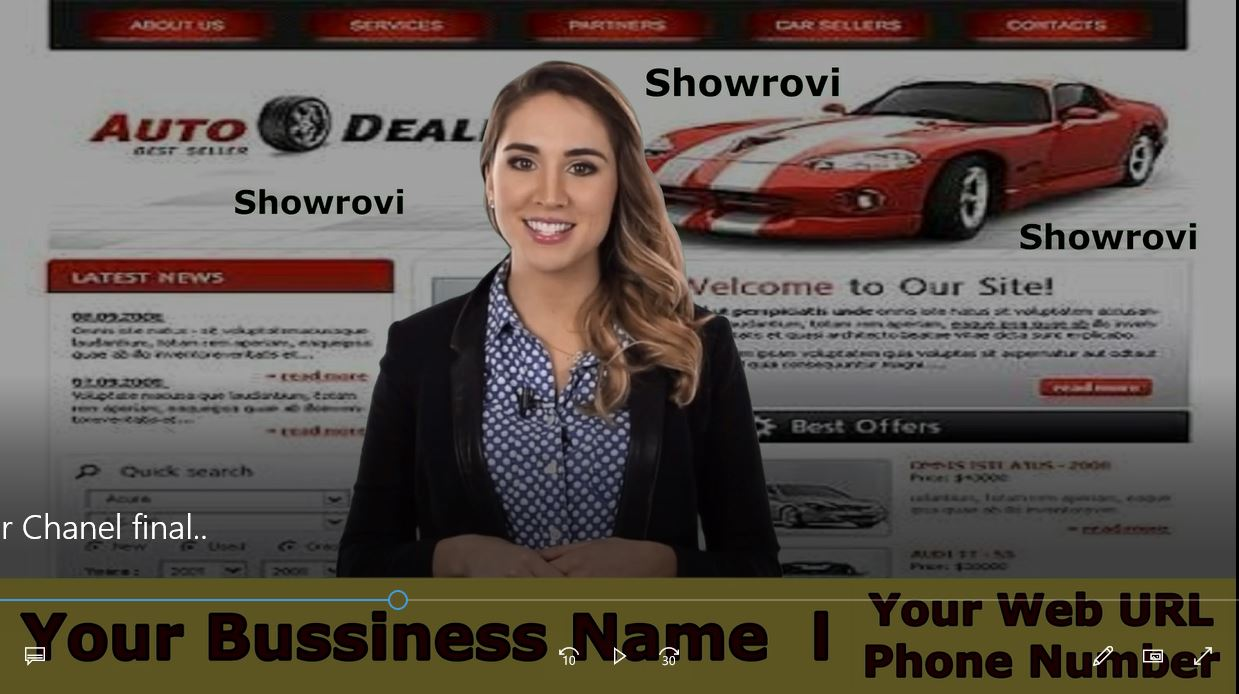 Provide Awesome Real Estate Spokesperson promo video for