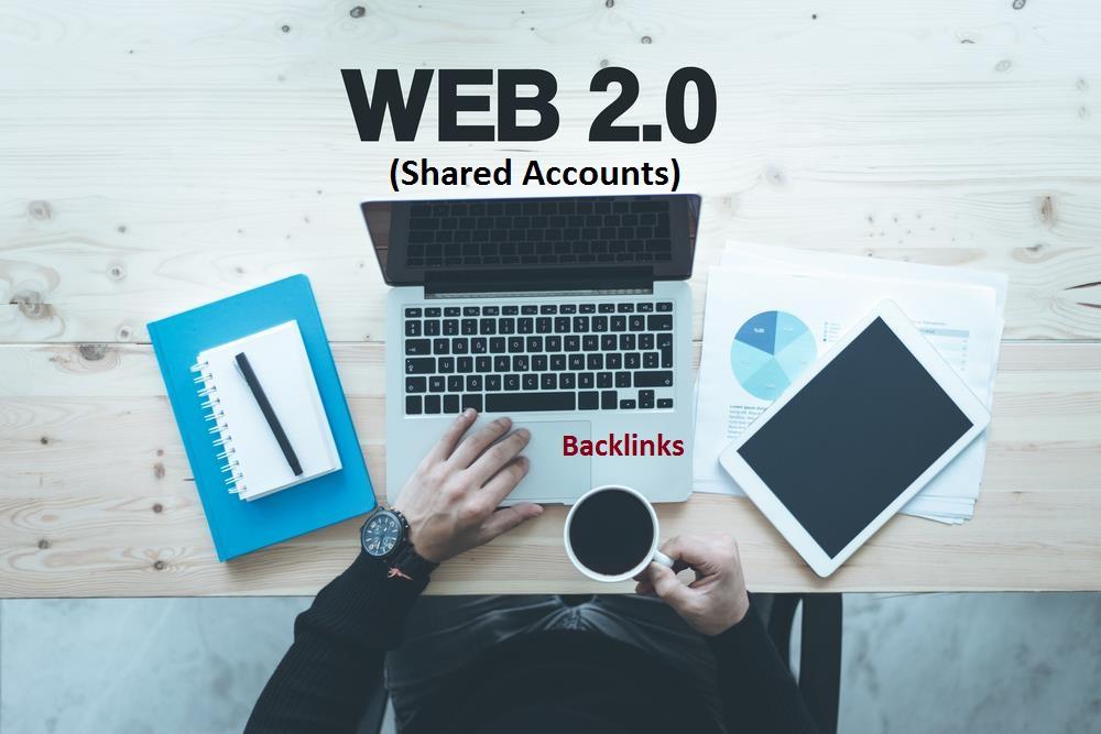 DA 50 web 2.0 blogs Shared Accounts