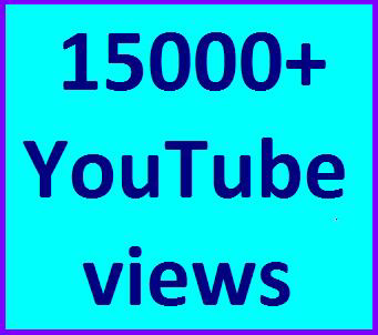 15000-17000 High Quality Youtube views non drop refill guaranteed instant start
