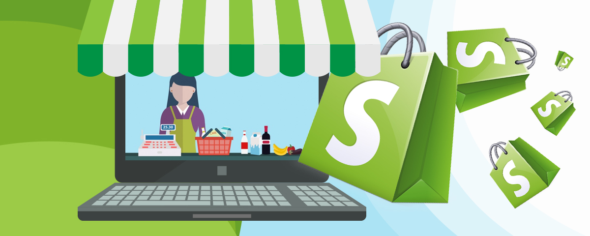 I will create a store on Shopify without having to pay your monthly fees