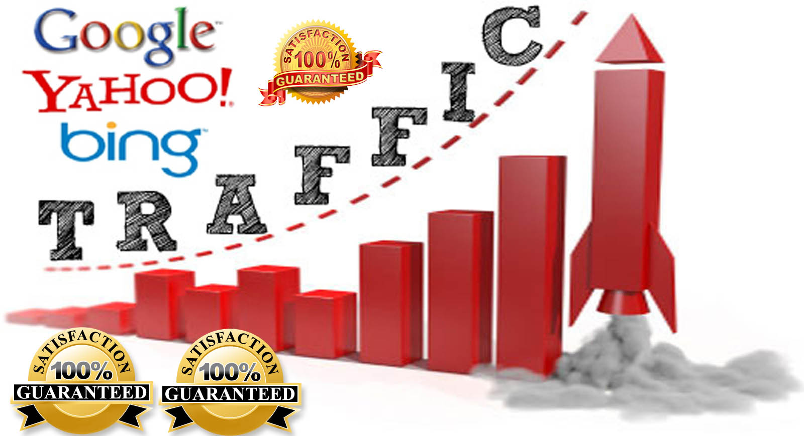 Unlimited Real Human Web Traffic For 6 Month