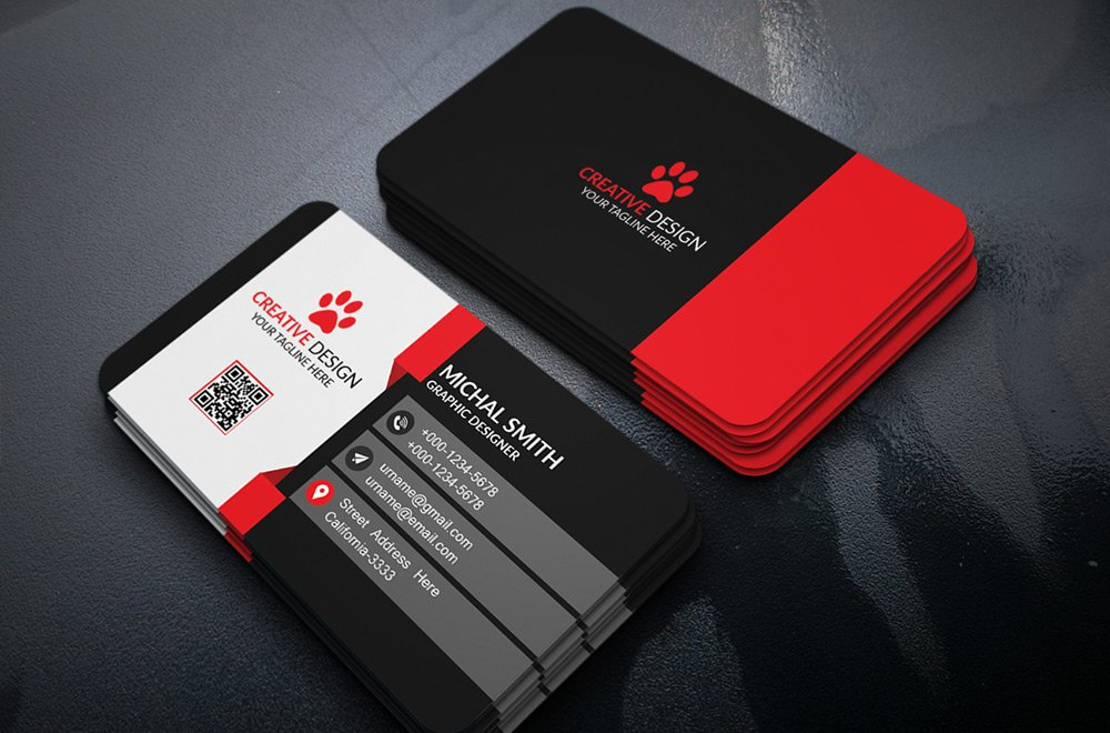 Design professional business cards for you