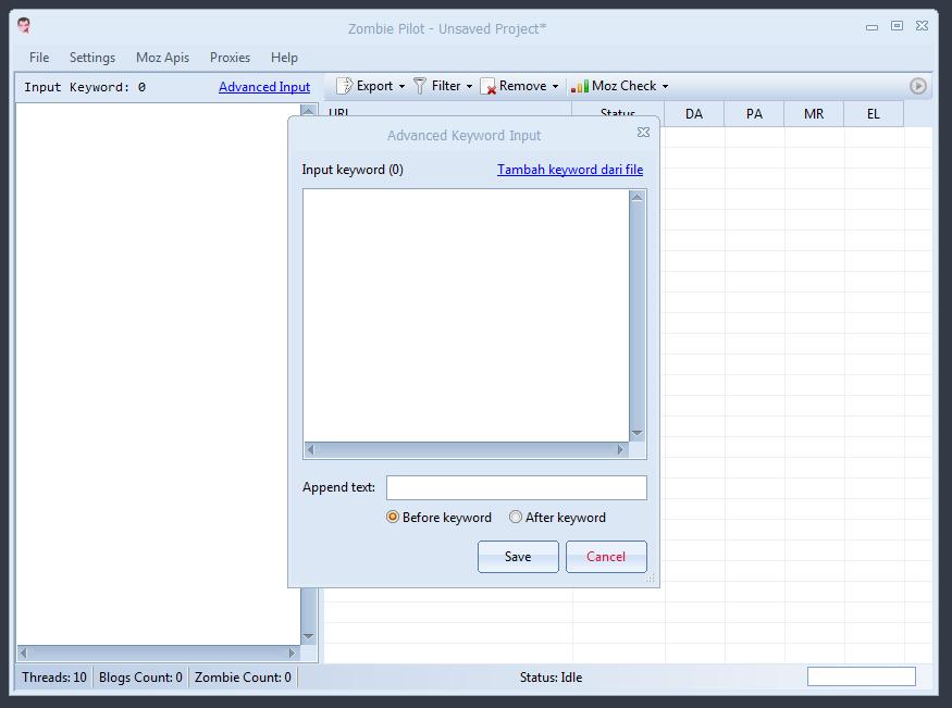 ZombiePilot - Expired Web 2.0 Hunter Original Software