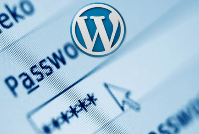 Reset and recover your wordpress login details