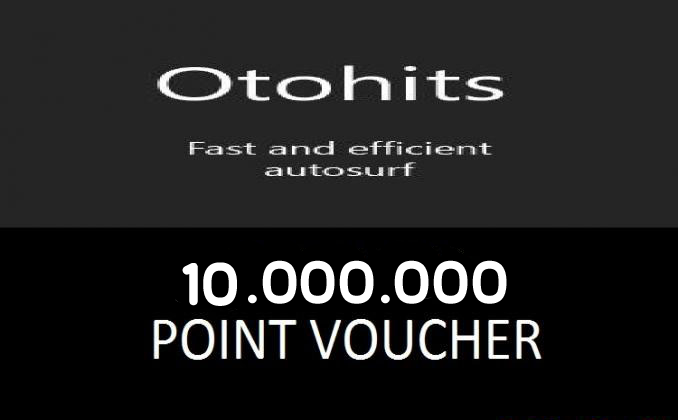 Cheap Oto-Hits Point 10M to Boost your google and alexa rank