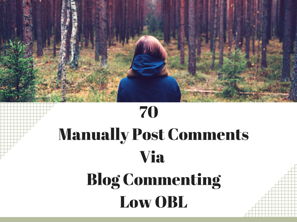 Manually Post 75 Low Obl Backlinks