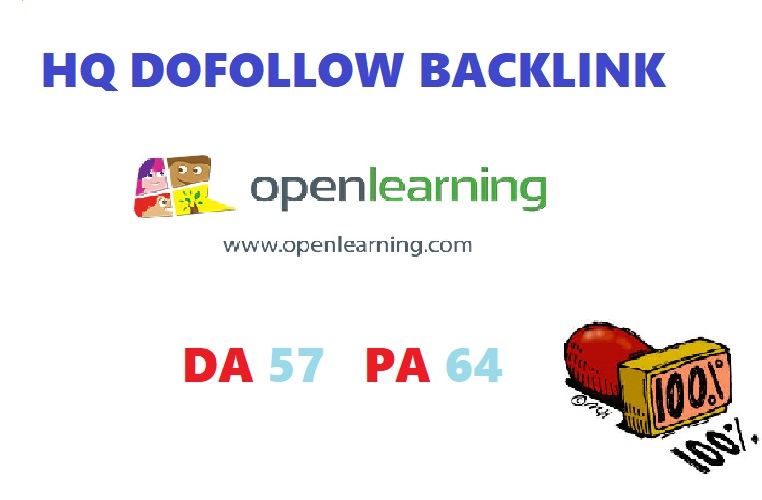 write & post on openlearning.com HQ dofollow backlink