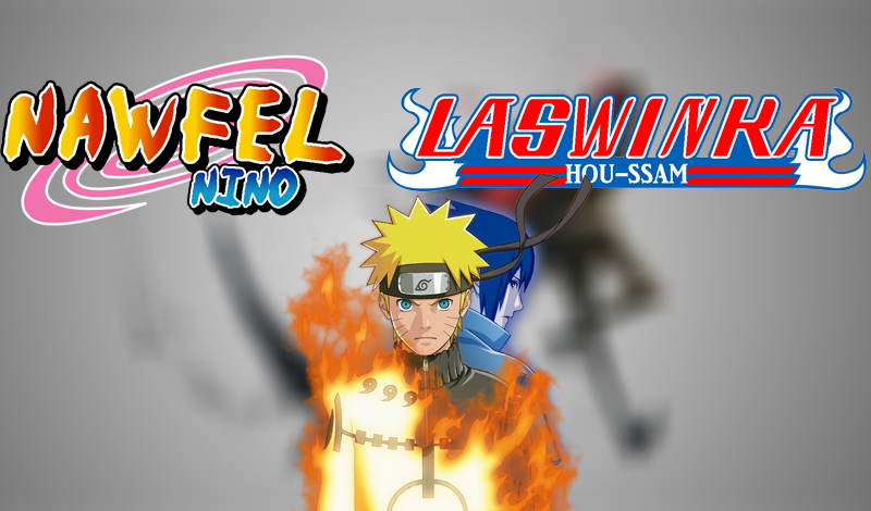 Design Logo Like Naruto, Bleach Anime