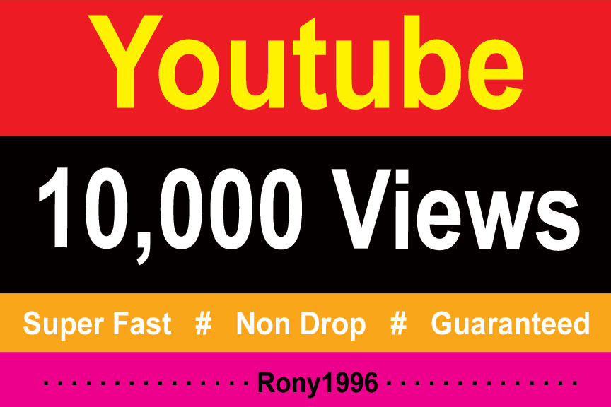 instant 10,000 Vieews Fully Safe, High Retention