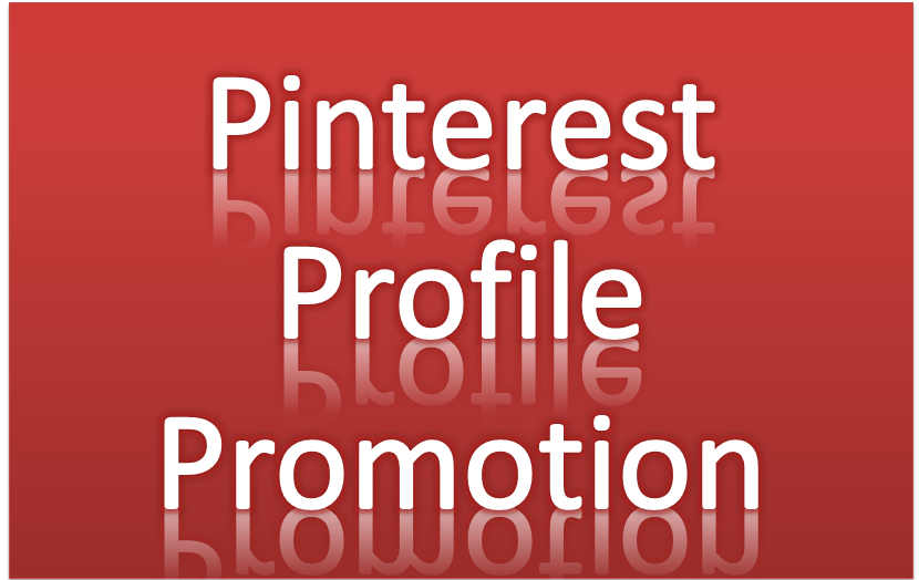 Promotion Your Pinterest 840 Profile Followers