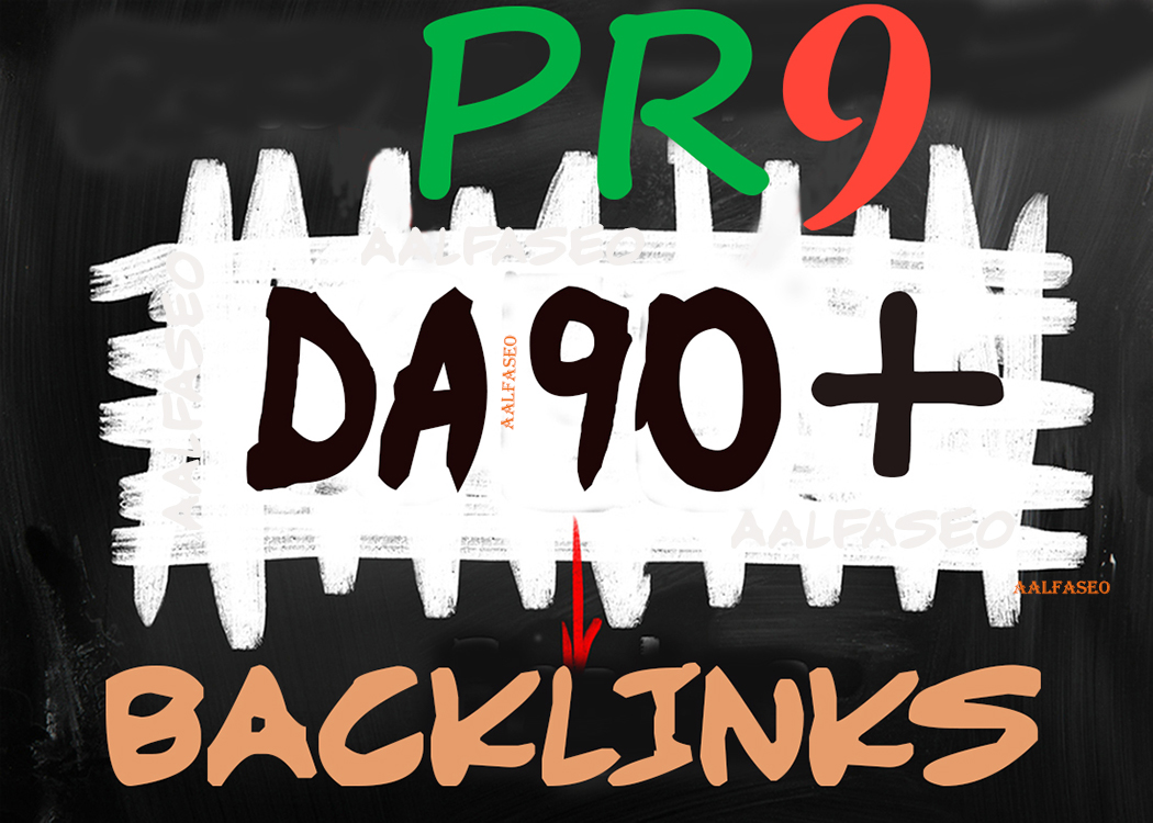 90+DA PR9 HQ TF Safe SEO Permanent 50 Backlinks Manually Create Helps to get Google Top Rank