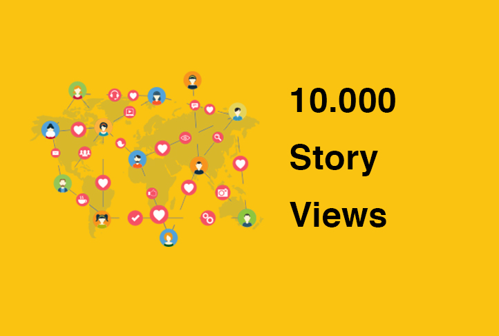 10.000 Story ALL Story Views - instant services