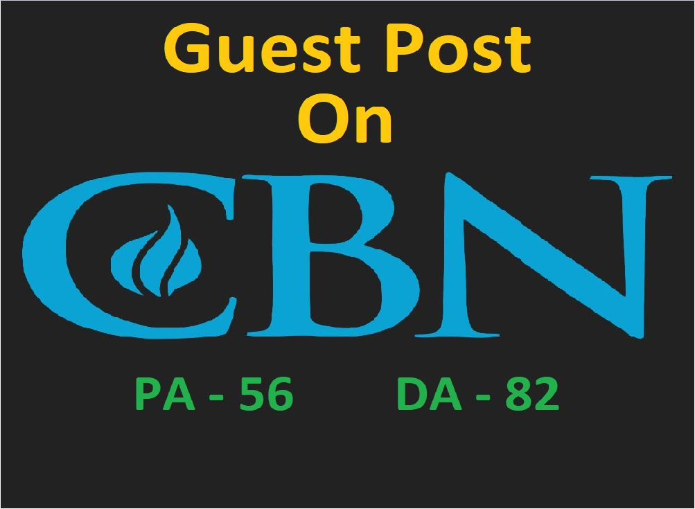Write and Publish Guest Post On CBN News