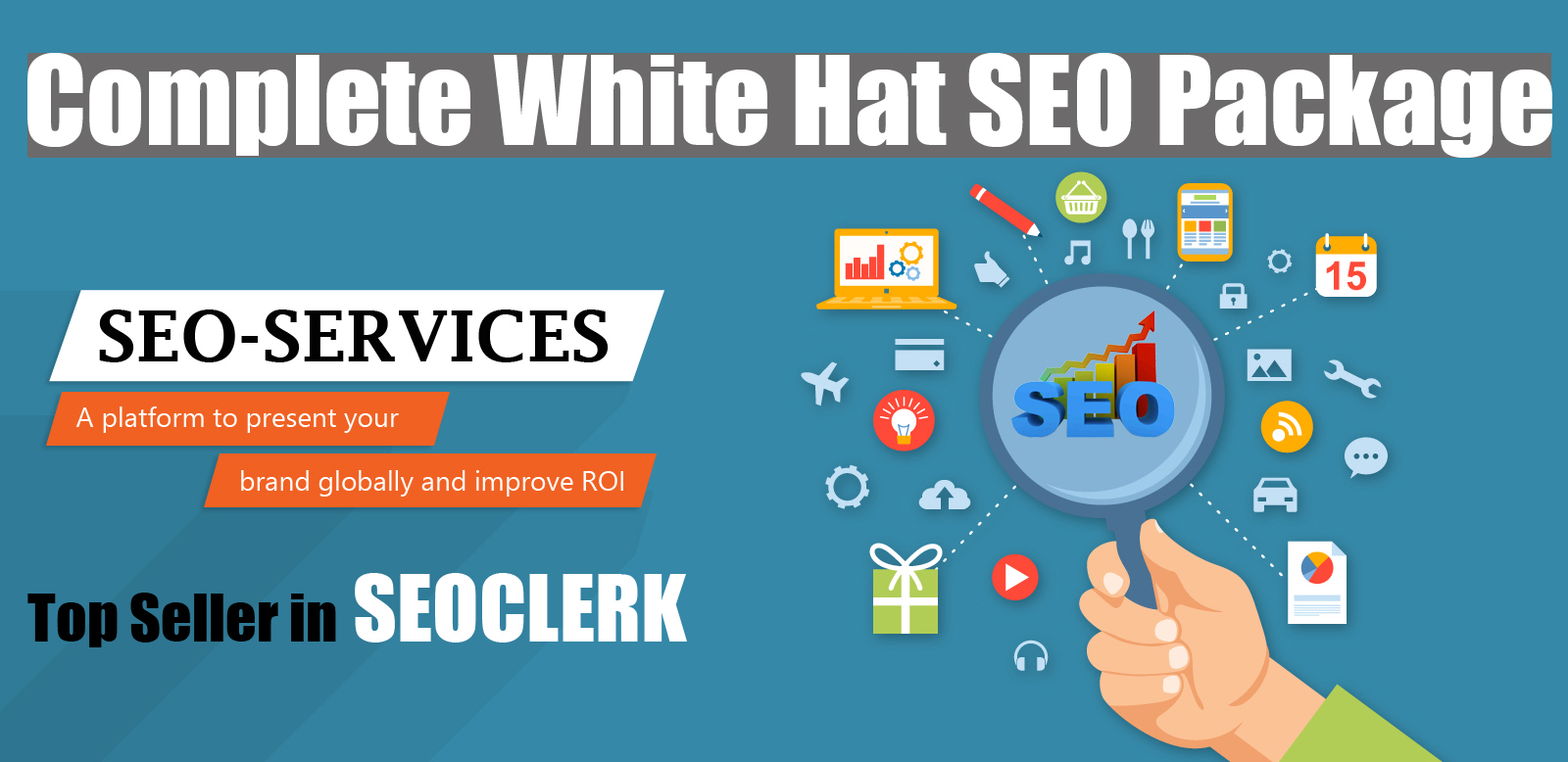 Boost Website with White Hat,  Organic SEO and Guaranted Rangking