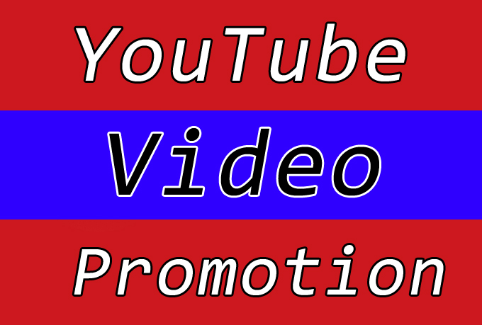 High Quality YouTube Video Promotion with Seo Raniking Marketing