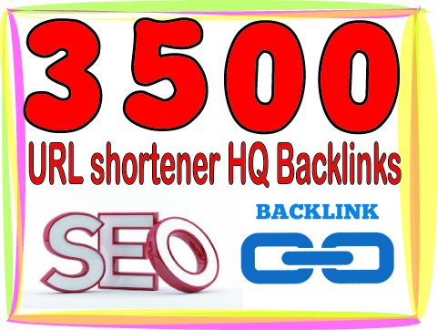 Create 3000 URL shortener High PR Metrics Backlinks