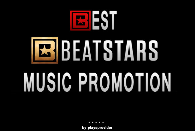 Beatstars 6000 play/s, likes and reups