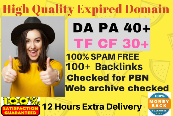 Get High Authority expired domains for PBN