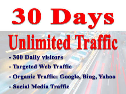 Rank your website to highest top with UNLIMITED TRAFFIC.