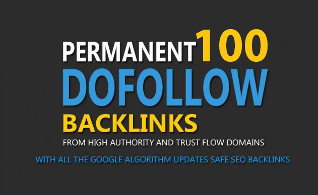 100 Do-Follow DA30-50+ Backlinks For Your site