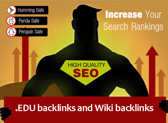 Ultimate SEO Package- 100 EDU backlinks and 1000 Wiki backlinks