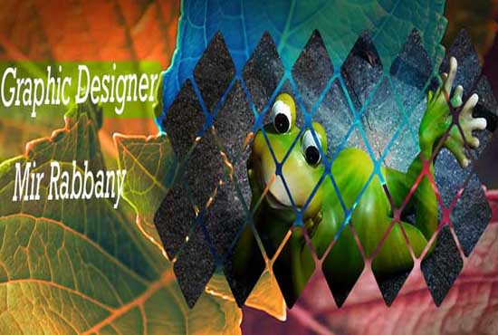 Create a all social media cover image for your profile