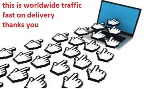 Fast Add 500k worldwide traffic to your website AdSense Safe & real People Traffic