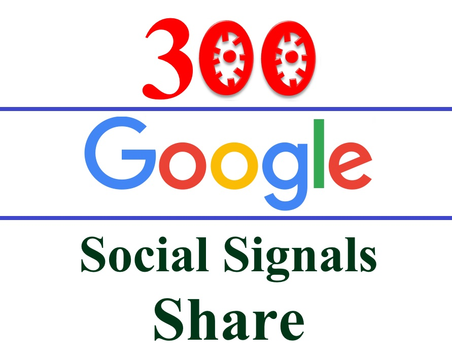 Get 300 Google plus Share /SEO Social Signals /Bookmarks /Backlinks- for Websites, Videos - Different Google Accounts split available