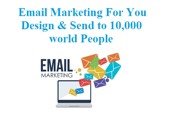 Design HTML Template Email And Send To 10k Persons