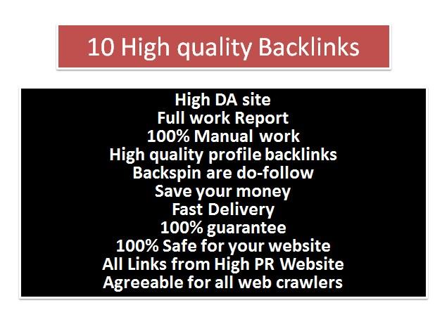Create You 11 DO-FOLLOW Profile Back-links