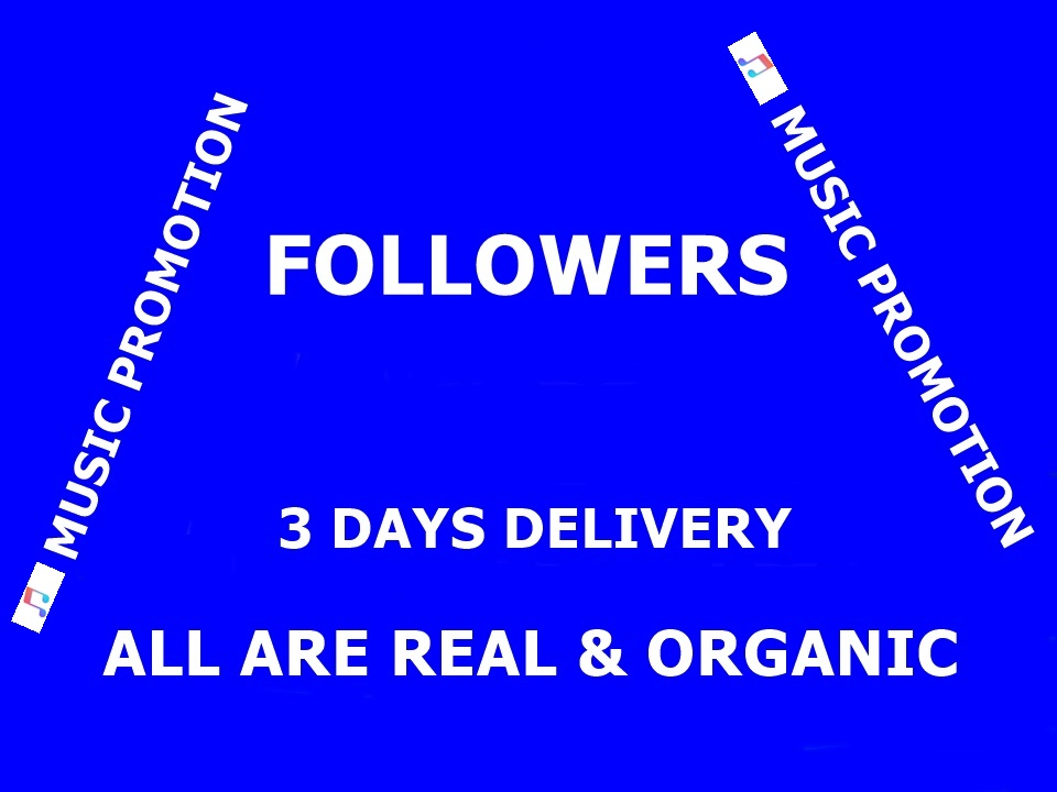 Music Promotion 1000 Playlist Artist Followers With in 3 Days