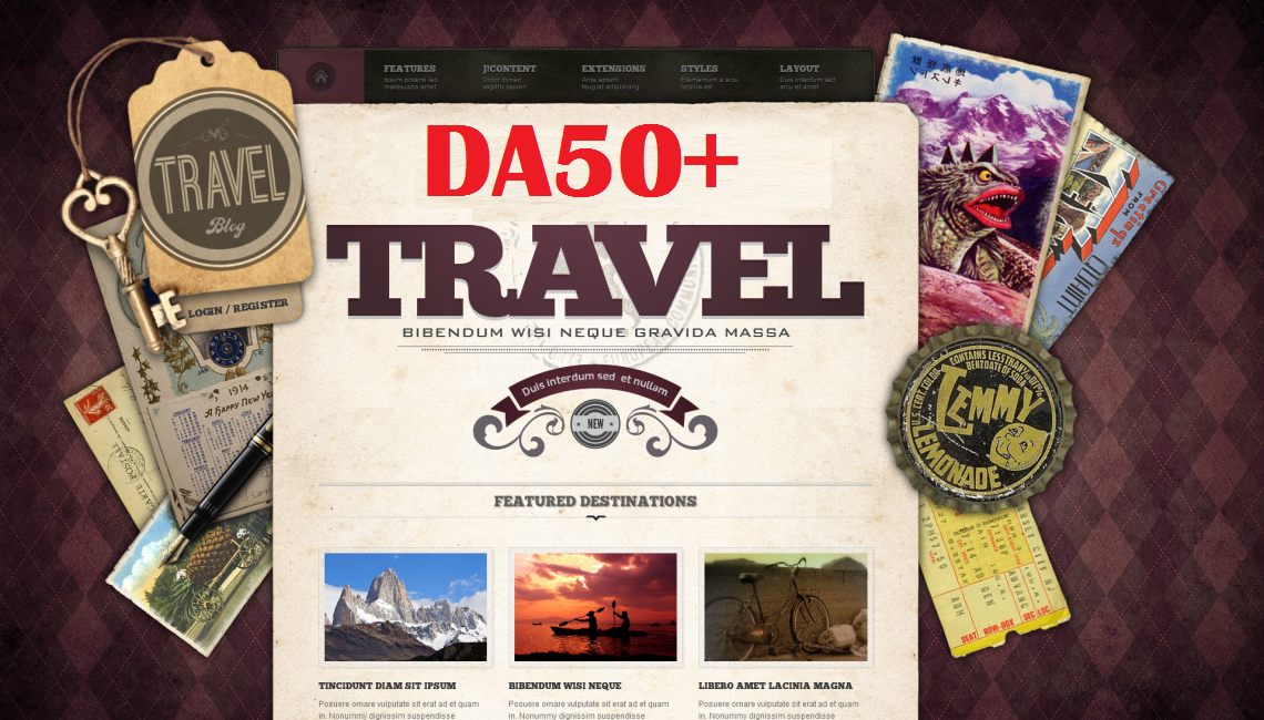 Guest Post On Da 50 Quality Travel niche Blog