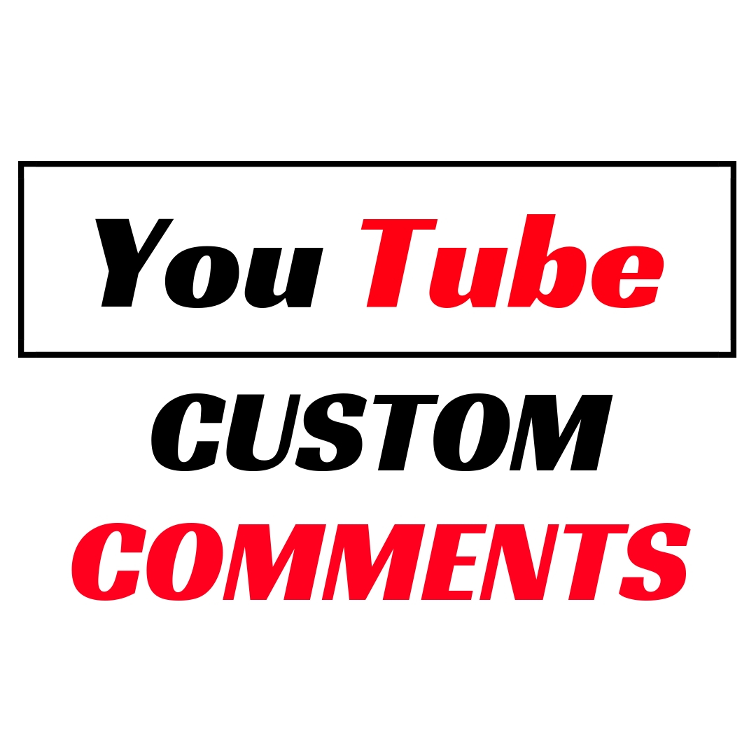 Fast Provide 30 Y-Tube Video Lifetime Permanent Custom Comments With Fast Delivery
