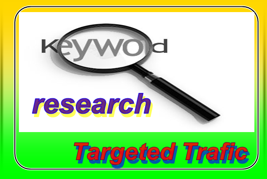 Research 30 most profitable keywords for your site