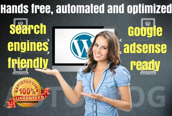 create autoblog affiliates with Amazon