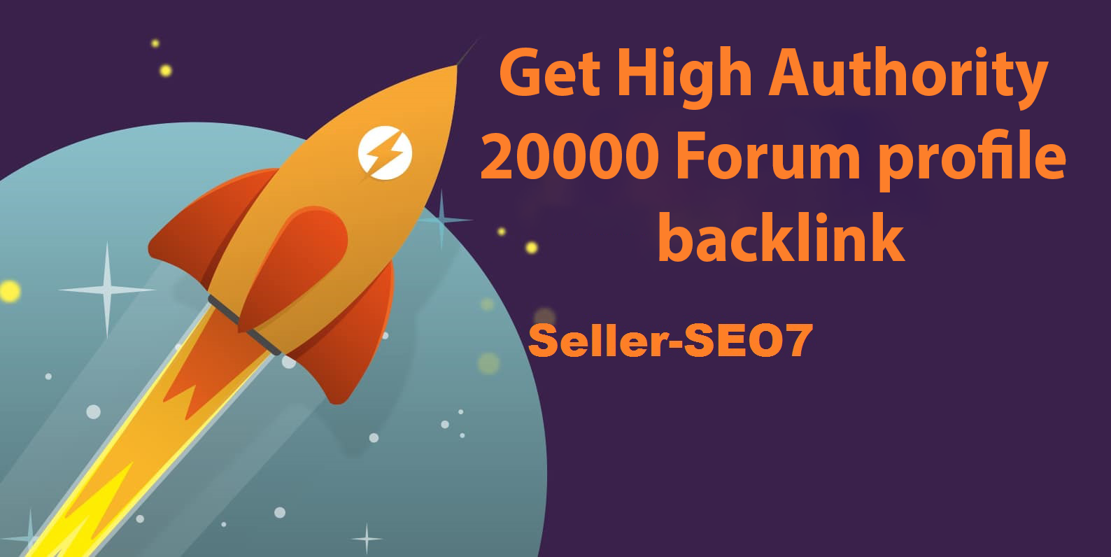Get High Authority 20000 Forum profile backlink service on google