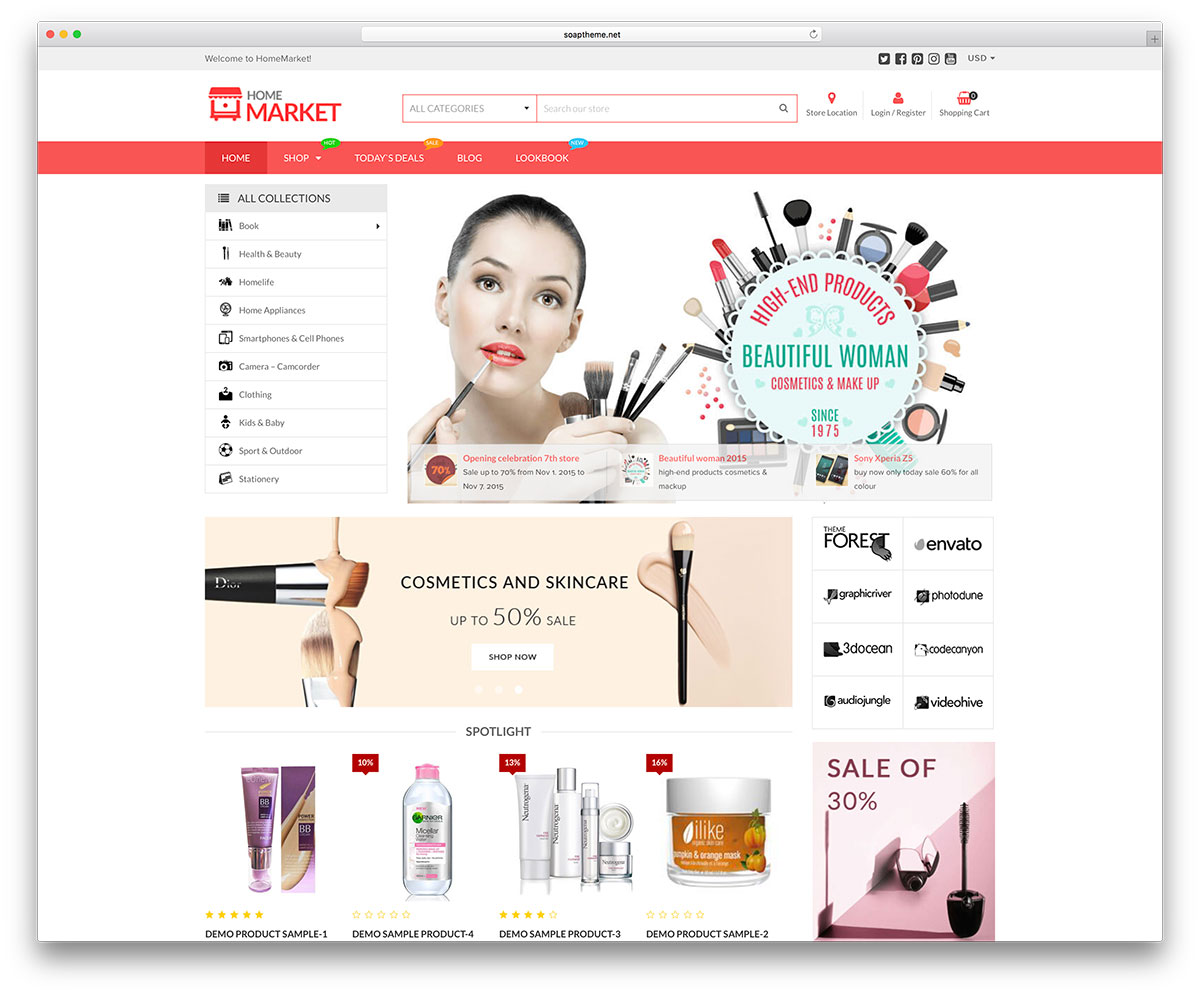 Create Wordpress E-Commerce Webiste with Premium Theme