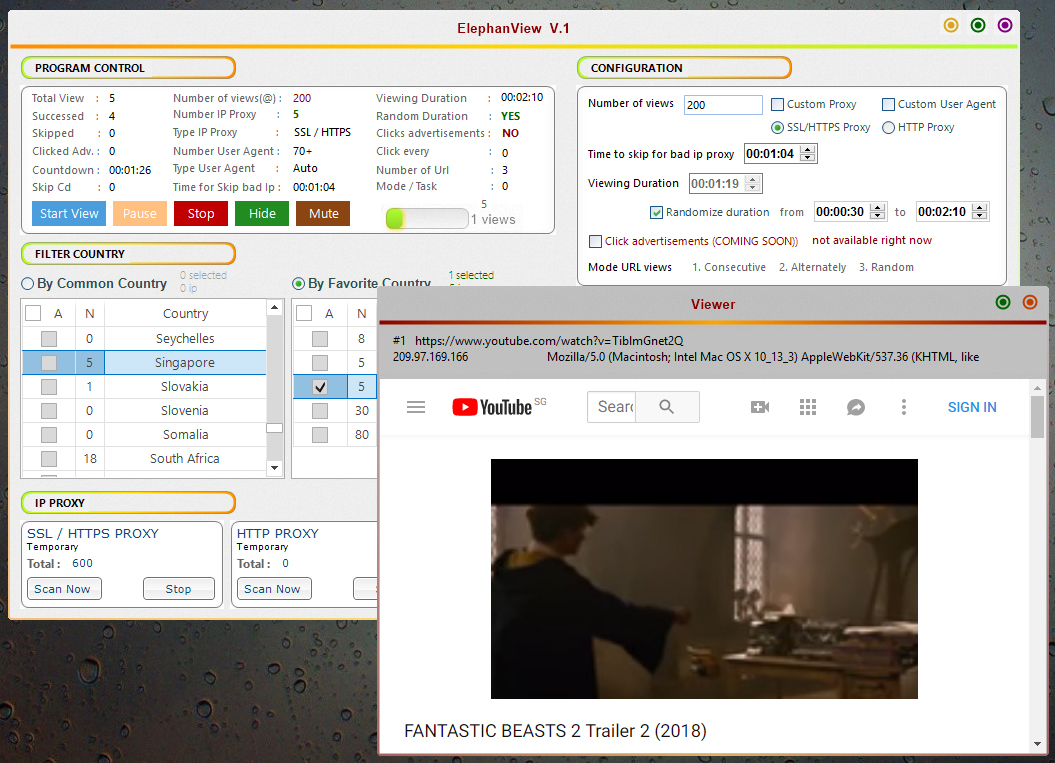 youtube bot - Increase your youtube viewer with Eleph...