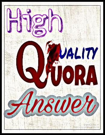 Submit your website with 10 high quality Quora answer